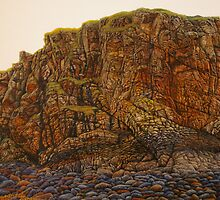 """The Connectivity of History"" (alternative photograph) 52x88cm, oil on linen. by Jason Moad"