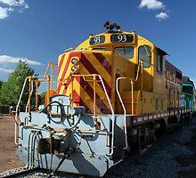 Santa Fe Southern locomotive 93. by Carlos Llamas