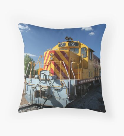 Santa Fe Southern locomotive 93. Throw Pillow