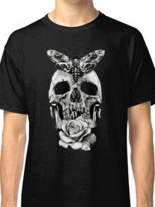 TATTOO - Butterfly on skull Classic T-Shirt
