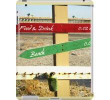 To the Beach by Jan Marvin iPad Case/Skin