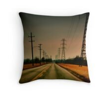 Moving Ahead Throw Pillow