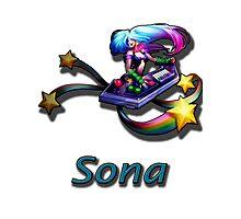 Sona- Arcade Photographic Print