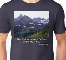 Grinnell Lake & Grinnell Glacier Unisex T-Shirt