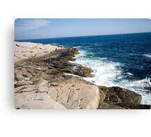 Atlantic Coastline Canvas Print