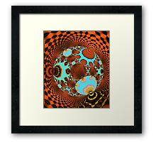 The Fractal Disco Ball Framed Print