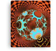The Fractal Disco Ball Canvas Print