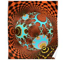 The Fractal Disco Ball Poster
