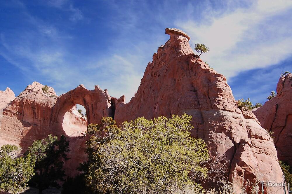Window Rock, Arizona by ElGordo