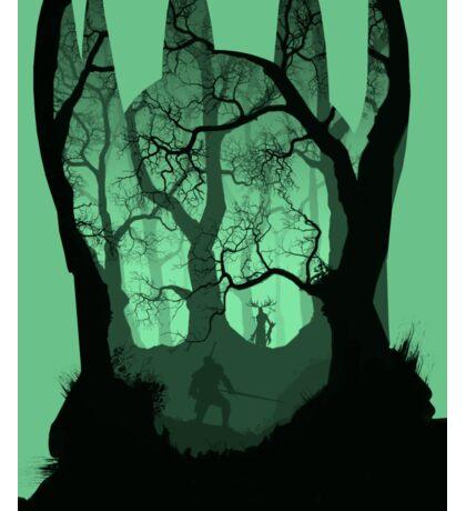 Witcher 3 - Geralt vs Leshen Sticker