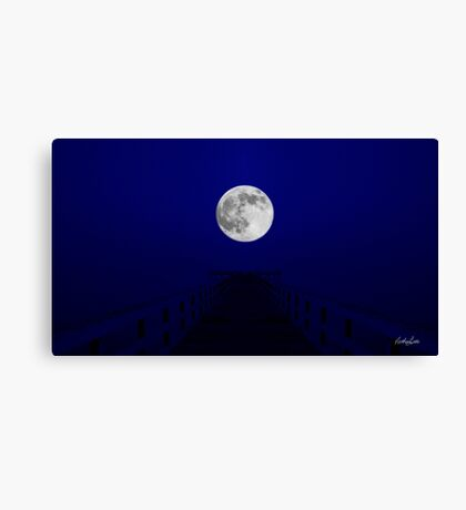 Into the Blue Remastered Canvas Print