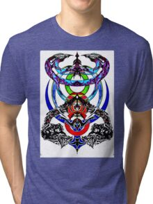 Phantoms Above and Below Tri-blend T-Shirt