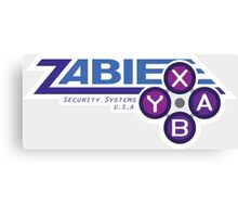 ZABIE Security Systems - USA Canvas Print