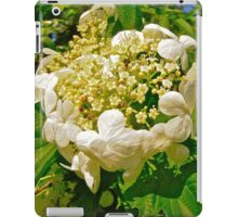 Crown of White flowers iPad Case/Skin