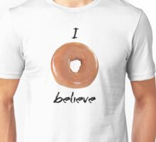 I donut believe! (Light backgrounds) Unisex T-Shirt