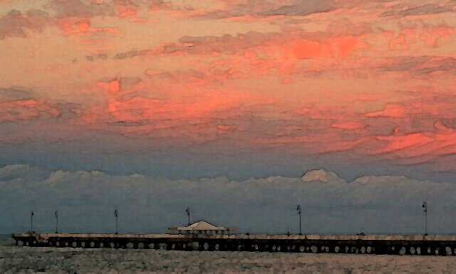 Shorncliffe pier by smurf