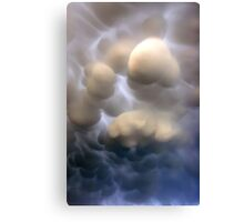 Mammatus clouds  Canvas Print