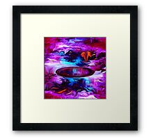 Down Deep Inside - Abstract 32+ wall art/+Clothing & Stickers+ Cases +Pillows & Totes+ Laptop Skins+Mugs+Cards  Framed Print