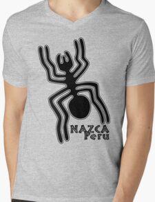 Nazca Mens V-Neck T-Shirt