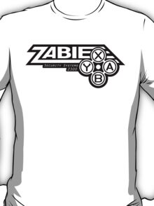 Zabie Security Systems - Black & White T-Shirt