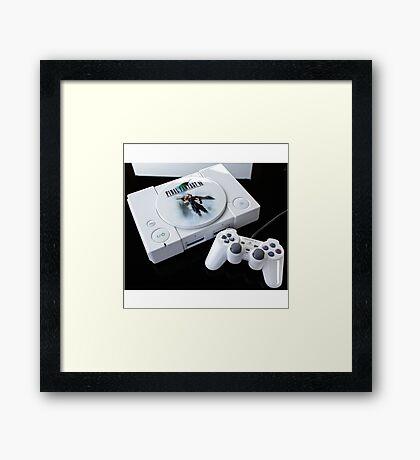 Final Fantasy PlayStation Framed Print