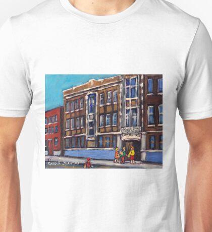 BARON BYNG HIGH SCHOOL MONTREAL CITY SCENE Unisex T-Shirt