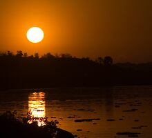Sunrise on the Nile by Michael Clark