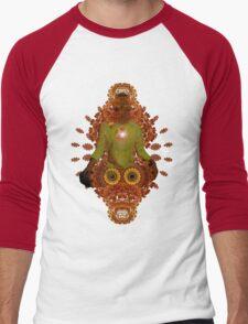 meditadelic Men's Baseball ¾ T-Shirt