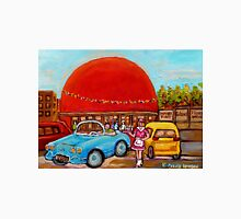 ROADSIDE ATTRACTION MONTREAL DRIVE-IN DINERS CANADIAN CITY SCENES PAINTINGS Unisex T-Shirt