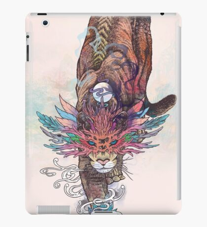 Journeying Spirit (Mountain Lion) iPad Case/Skin