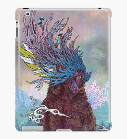 Journeying Spirit (Bear) iPad Case/Skin
