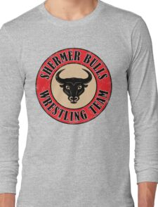 Shermer Bulls Wrestling Team Long Sleeve T-Shirt