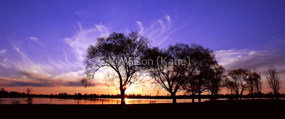 End of another day by Sue Wilson (Kane)