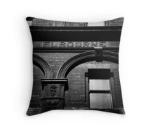 me!bourne Throw Pillow