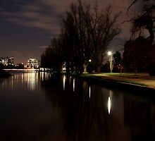 Albert Park Lake by John Hurle