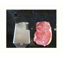 Barbecue Art Print