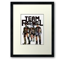 Team Free Will  Framed Print