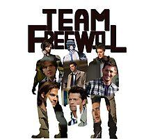 Team Free Will  Photographic Print