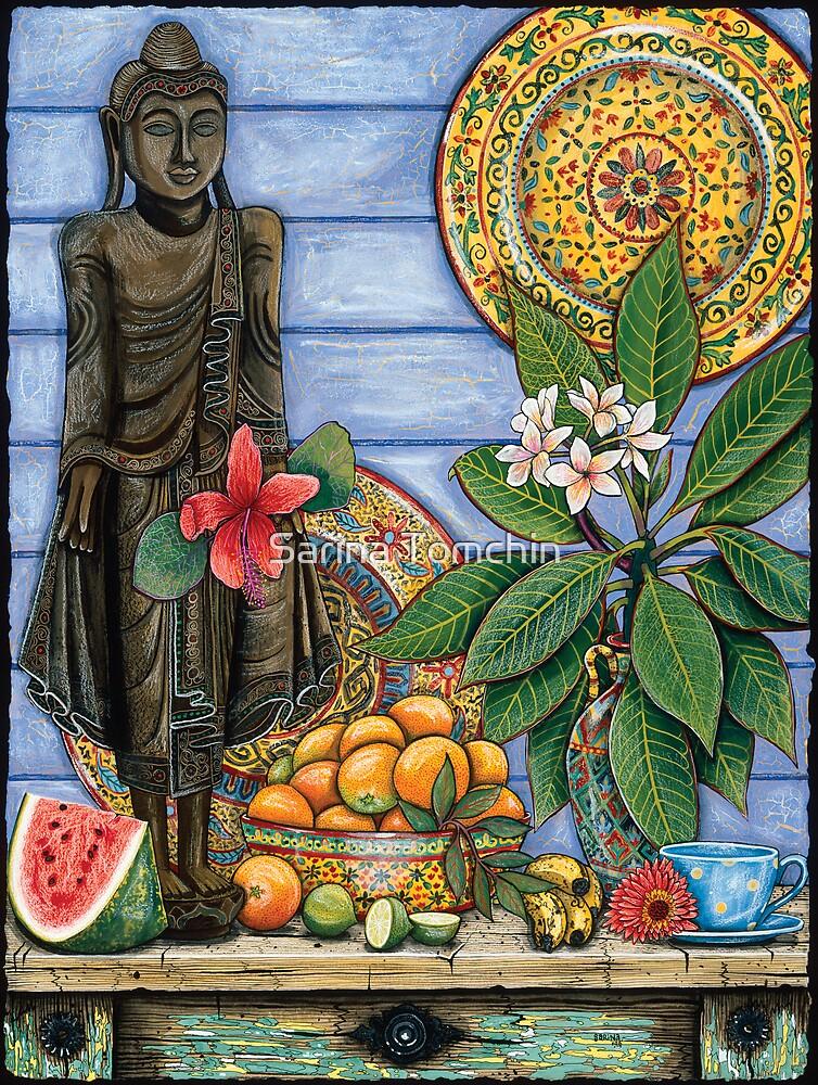 Burmese Buddha by Sarina Tomchin