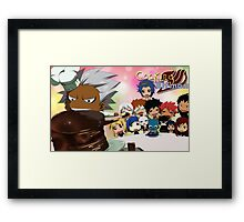 Cooking with Elfman Framed Print