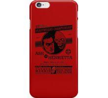Ash vs. Henrietta iPhone Case/Skin