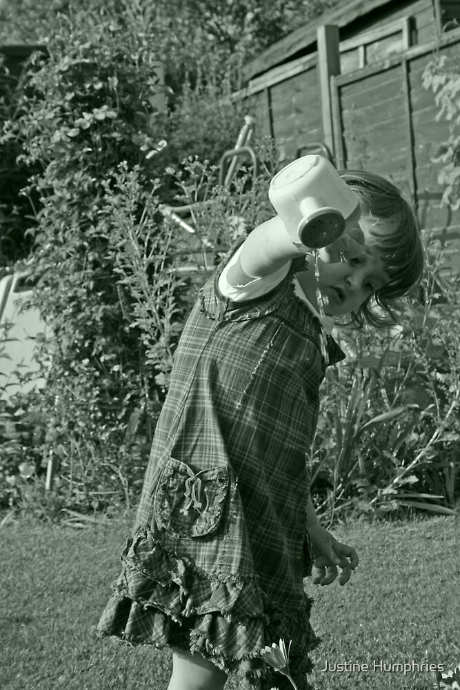 My little gardener by Justine Humphries