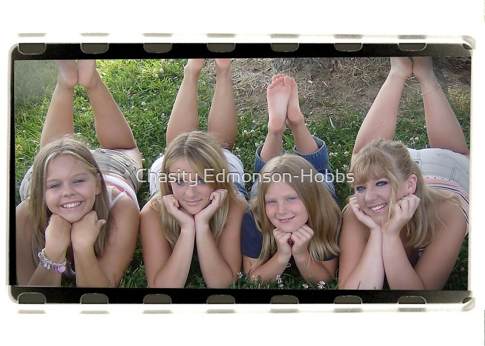 My girls! by Chasity Edmonson-Hobbs