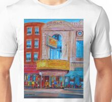 MOVIE THEATRE MONTREAL RIALTO CANADIAN ART CANADIAN PAINTINGS BY CANADIAN ARTIST CAROLE SPANDAU Unisex T-Shirt