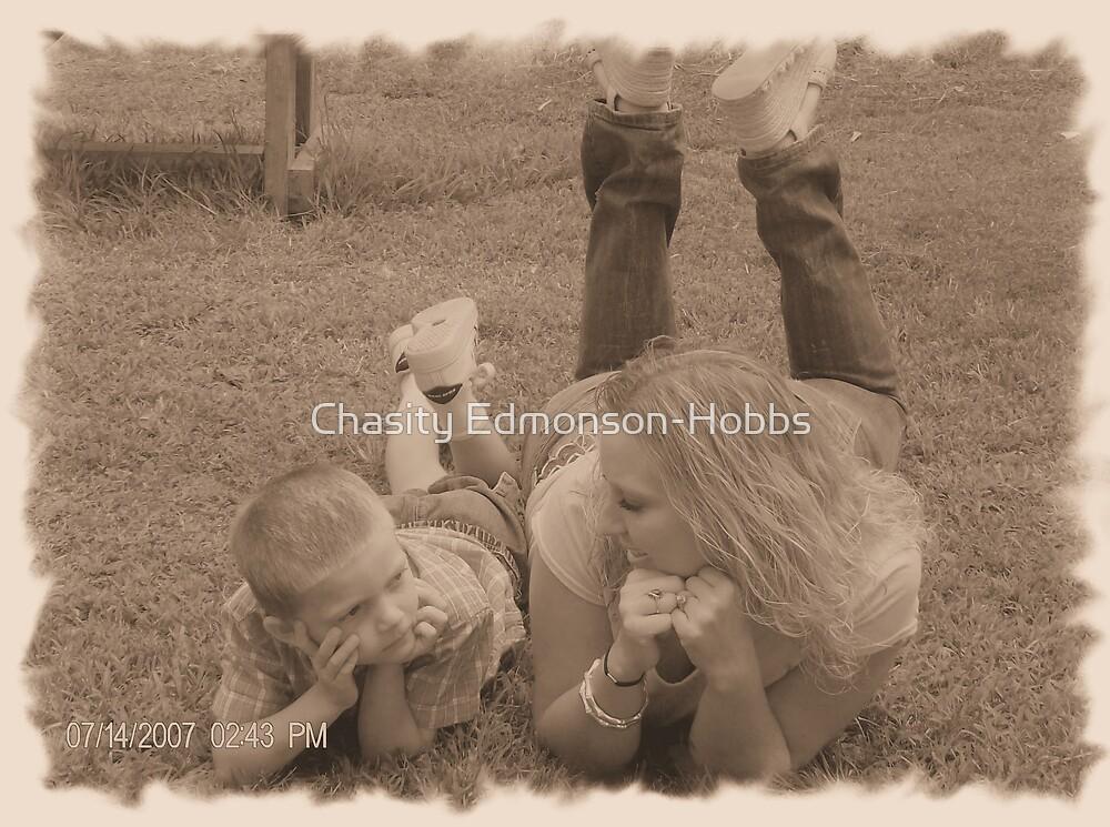 My sis & nephew by Chasity Edmonson-Hobbs