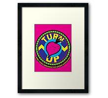 TurnUP - the Eighties! Framed Print