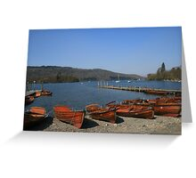 Lake Windermere - Cumbria, England Greeting Card