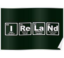 Ireland - Periodic Table Poster