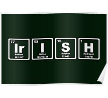 Irish - Periodic Table Poster