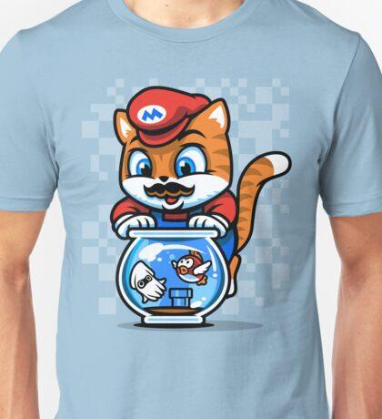 It's A ME-OW, Mario! Unisex T-Shirt